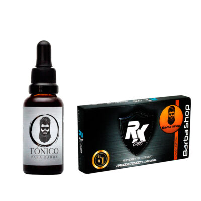 Tónico Para Barba + Rx One Potencializador Sexual